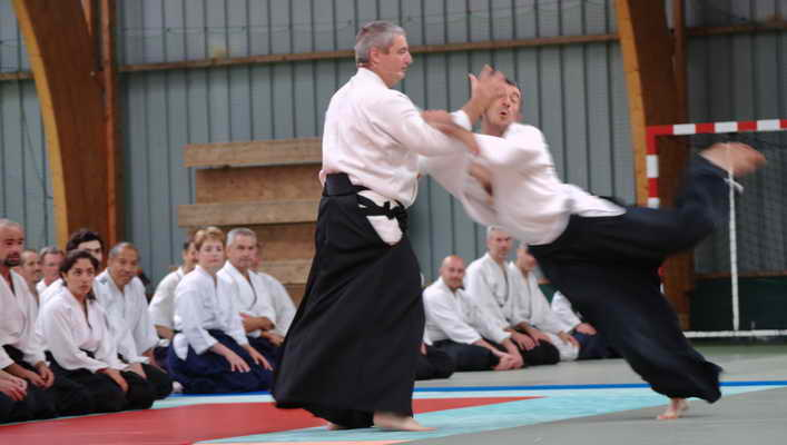 Respect  à BOURG en Bresse au dojo de l'aïkido traditionnel